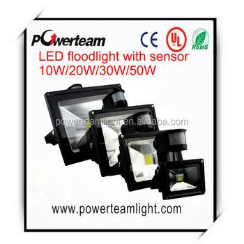 Waterproof Led Sensor Floodlight 10w 20w 30w 50w Led Floodlight ...