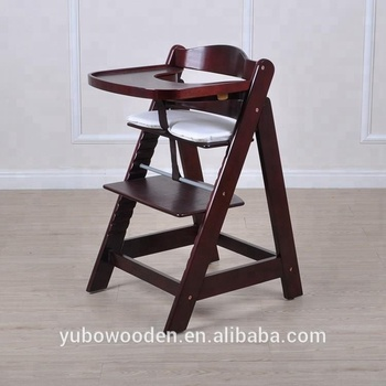 European Infant Wooden Baby High Chair Kids Feeding Stool Buy