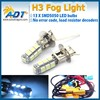 White 5050 smd led fog light, auto laser fog light