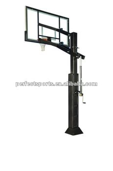 In-Ground Basketball Hoop System w/ Pole