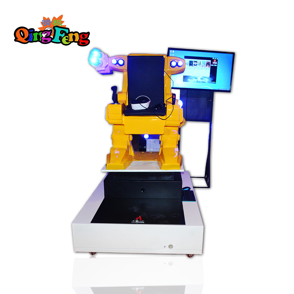 Qingfeng 9D VR interactive robot wholesale equipment VR rotary machine  vr simulator