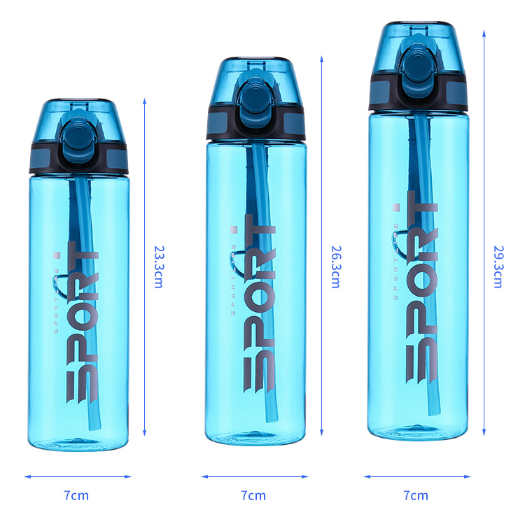 750/650/550ml bpa free tritan sports water bottle фото