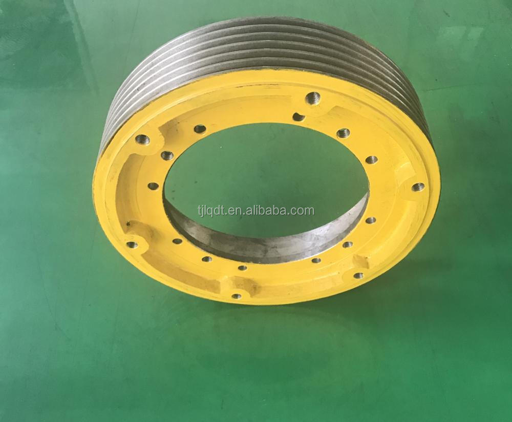 elevator spare parts for hitachi,elevator lift,traction elevator wheel