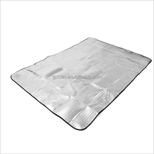 GBKB-004 Customized Aluminum Foil moisture-proof pad /mat for outdoor&camping 3-5people