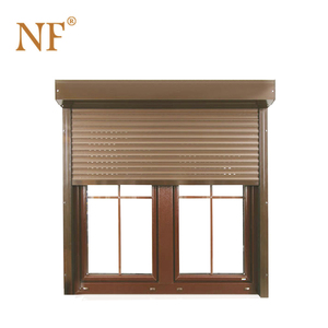 Aluminum shutters Pvc Louver casement windows