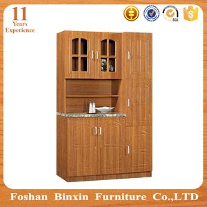 Movable kitchen cupboard furniture laminate kitchen cabinet