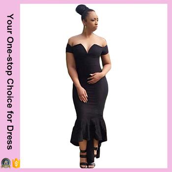 Stylish Women s Elegant Style Short Sleeve V-neck Off shoulder Back Zipper  Pure Color Straight 677245ad7d