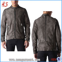 Clothing Manufactures Overseas Wholesale Leather Motocross Jackets Fashion Style For Men