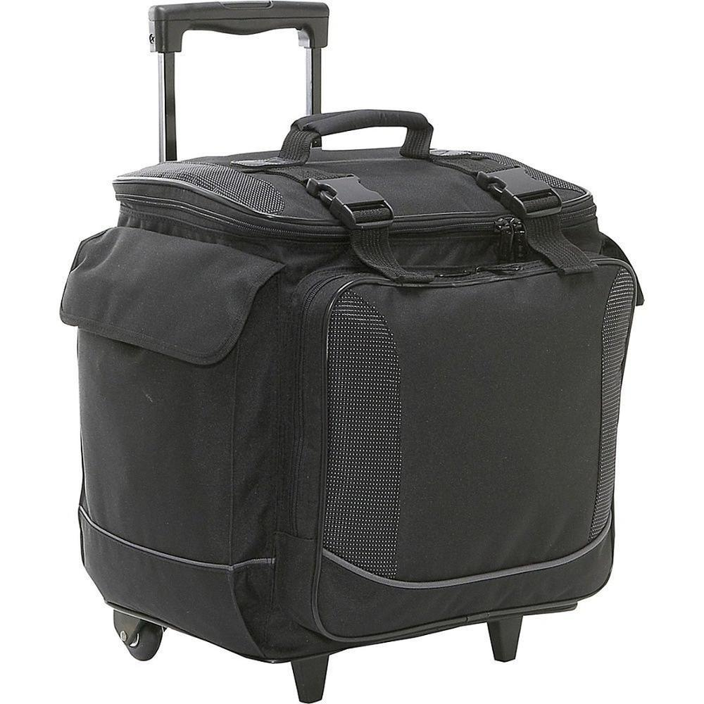 Hot sell Large capacity 12 Bottle Wine Carry Wheel Trolley Cooler Bag