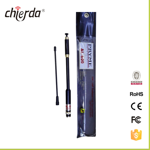 AL-800 144/430MHz VHF UHF SMA Male telescopic dual band high gain <strong>antenna</strong>