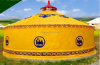 Custom Family Custom Waterproof Wind Resistant Outdoor Family Camping Yurt Tent
