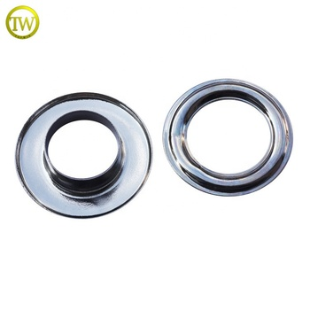 Custom fashion silver color brass eyelets for garment/bags