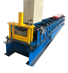 Wall hanging metal panel roll forming machine