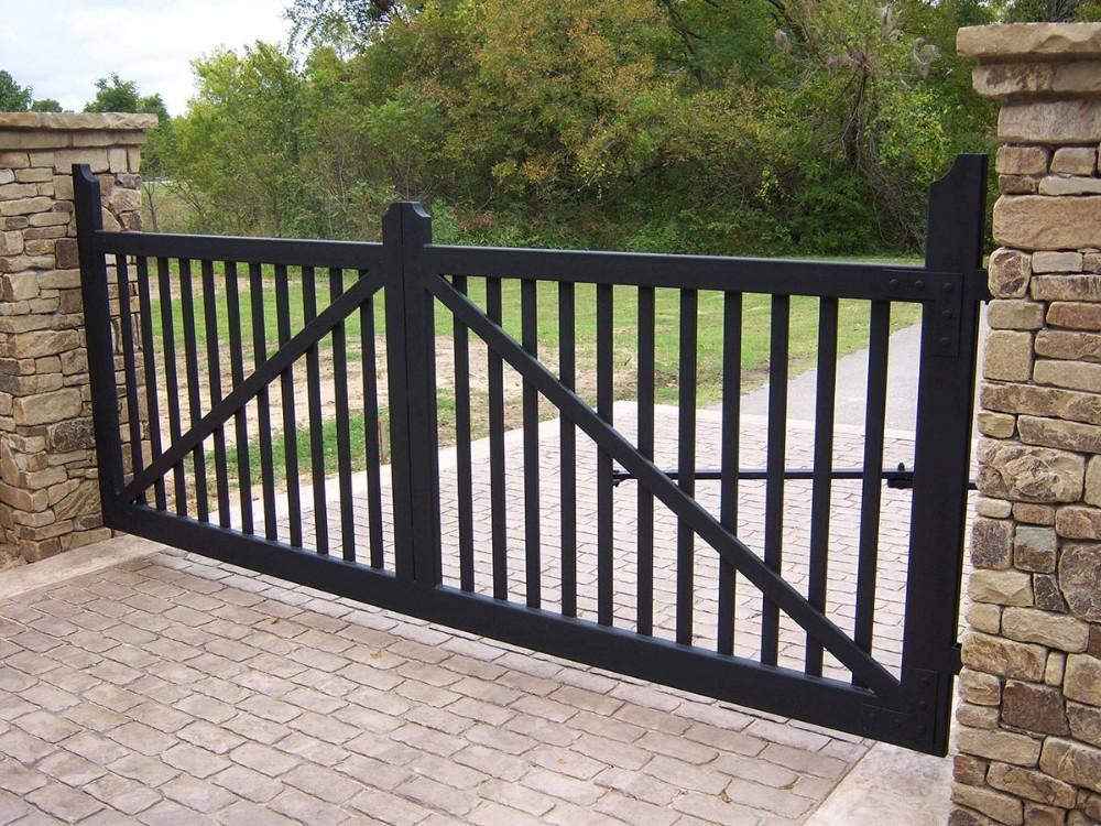 Latest steel gate designs main sliding