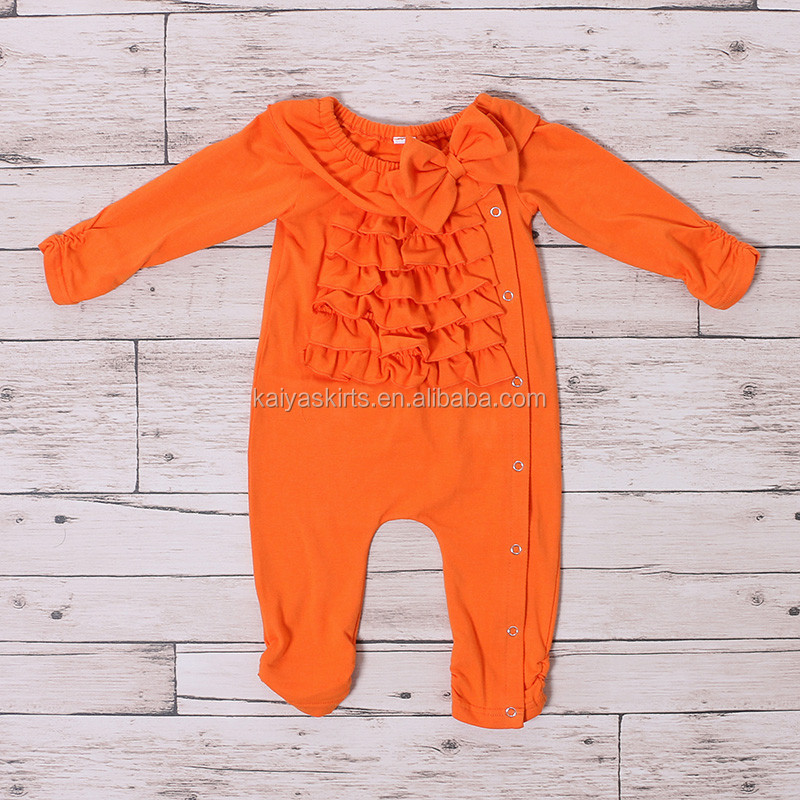 New Style kaiya Wholesale Fancy Cotton Baby romper Cotton new born baby names