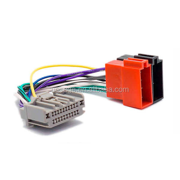 Xtrons Iso Radio Wire Wiring Harness Adapter Connector Android Car on jeep ignition lock, jeep engine wiring harness, jeep transmission harness, jeep dvd player, jeep alpine, jeep alternator, jeep trailer hitch wiring harness, jeep tow bar wiring harness, jeep subwoofer, jeep compass wiring harness,