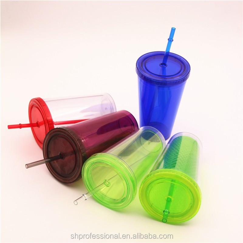 Copos promocionais de plástico dobrável/copos de plástico dobrável para viajar