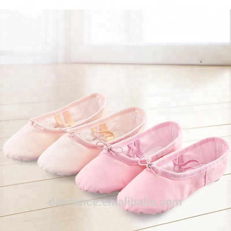 Canvas Split Sole Dance Shoes Women Ballet Shoes