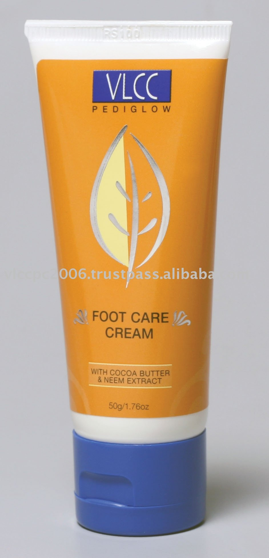 foot cream on face