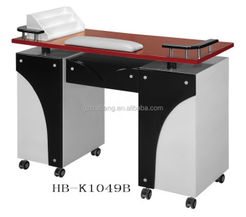 Salon nail table manicure desk for sale beauty salon hb for Beauty table for sale
