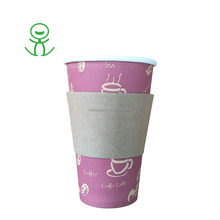 Custom printed paper cup sleeve available in various sizes and designs