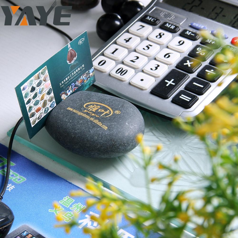 Natürliche Gravierte Stein Name Kartenhalter Benutzerdefinierte Logo Stein Menühalter Buy Stein Visitenkartenhalter Stein