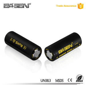 Global Certificated 26650 4500mAh Battery 60A 3.7V battery