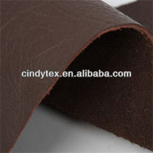 soft and worm real leather cow skin fabric