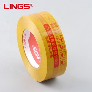High Quality crystal Adhesive 45mm* 180m BOPP Packaging Tape logo printed adhesive tape