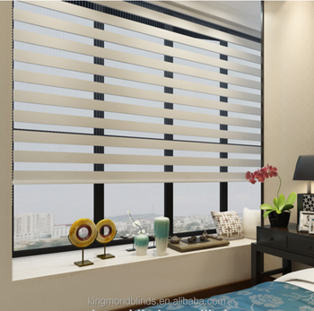 Beige Roller Duo Curtain Zebra Blinds Roll Up Roller Blinds Buy