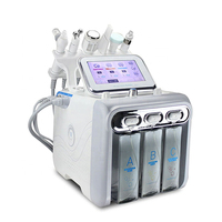 OSANO 6 in 1 dermabrasion skin care hydro facial water oxygen spray aqua peel equipment