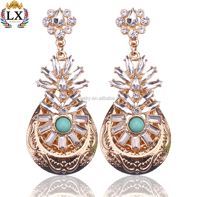 Buy cheap china chandelier earrings from india products find china elx 00156 high quality indian chandelier gold earrings designs crystal chandelier earrings mozeypictures Image collections