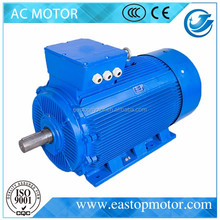 CE Approved Y3 brake motor three phase induction motor for mechanical with silicon-steel-sheet stator