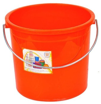 plastic water bucket cleaning pail flexible laundry bucket with