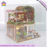Affordable birthday gift modern dollhouse plans,diy miniature wood house