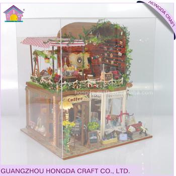 Affordable Birthday Gift Modern Dollhouse Plans Diy Miniature Wood