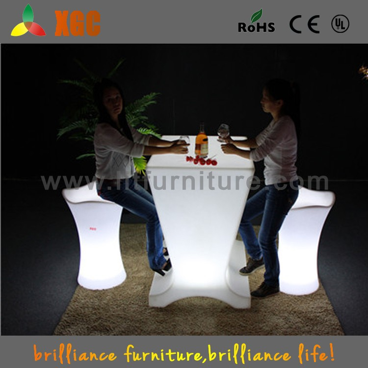 Muebles de led led de mesa sillas, muebles para discoteca, de jardín ...