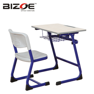 Best supplier school furniture steel desk for children