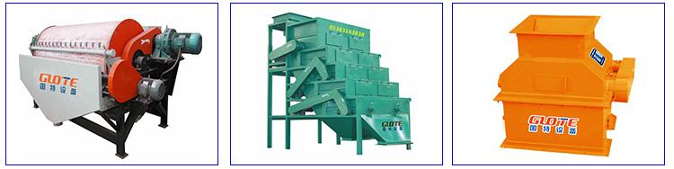Hoge intensiteit nat type drum magnetische separator permanente magnetische scheiding voor verkoop