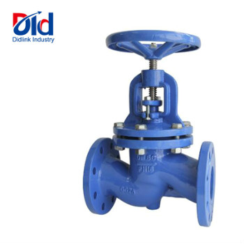 Cast Steel PN40 DN50 Steam And Thermal Oil Manual Operated Bellow Seal Stop Globe Valves