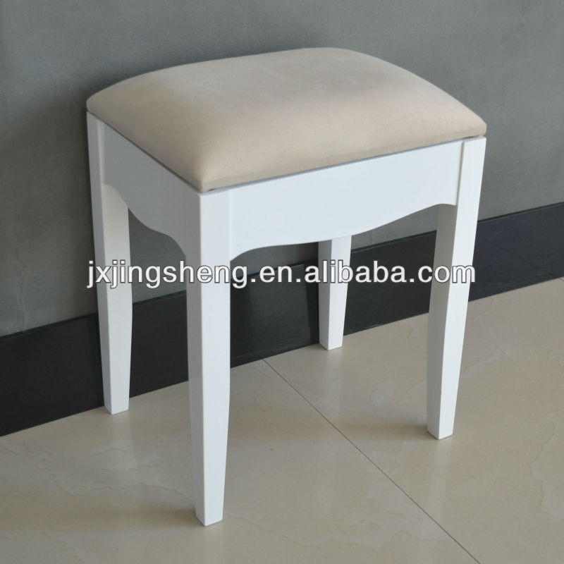 bedroom stool. White Bedroom Stool European Style Wood Foot Kd With Cushion  Flat packed Folding Chair Buy Rack
