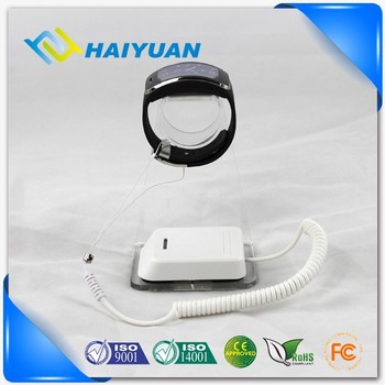Retail shop smart watch and smartband security alarm display solution