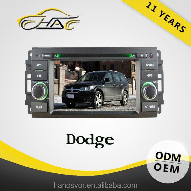 For dodge journey car radio gps system with dvd player Rear view camera for free