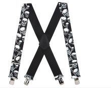 Fashion Adjustable Braces Men Elastic X-Back Suspenders