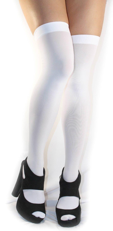 femmes blanc genou haute chaussettes promotion achetez des femmes blanc genou haute chaussettes. Black Bedroom Furniture Sets. Home Design Ideas