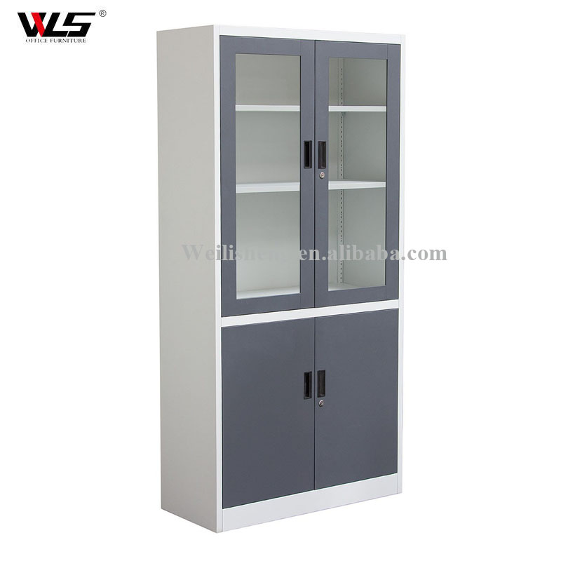steel furniture office filing cabinet kitchen cabinets with glass door