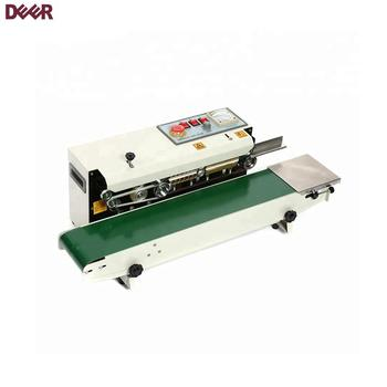 FR-770 Horizontal and vertical type colored continuous sealing machine