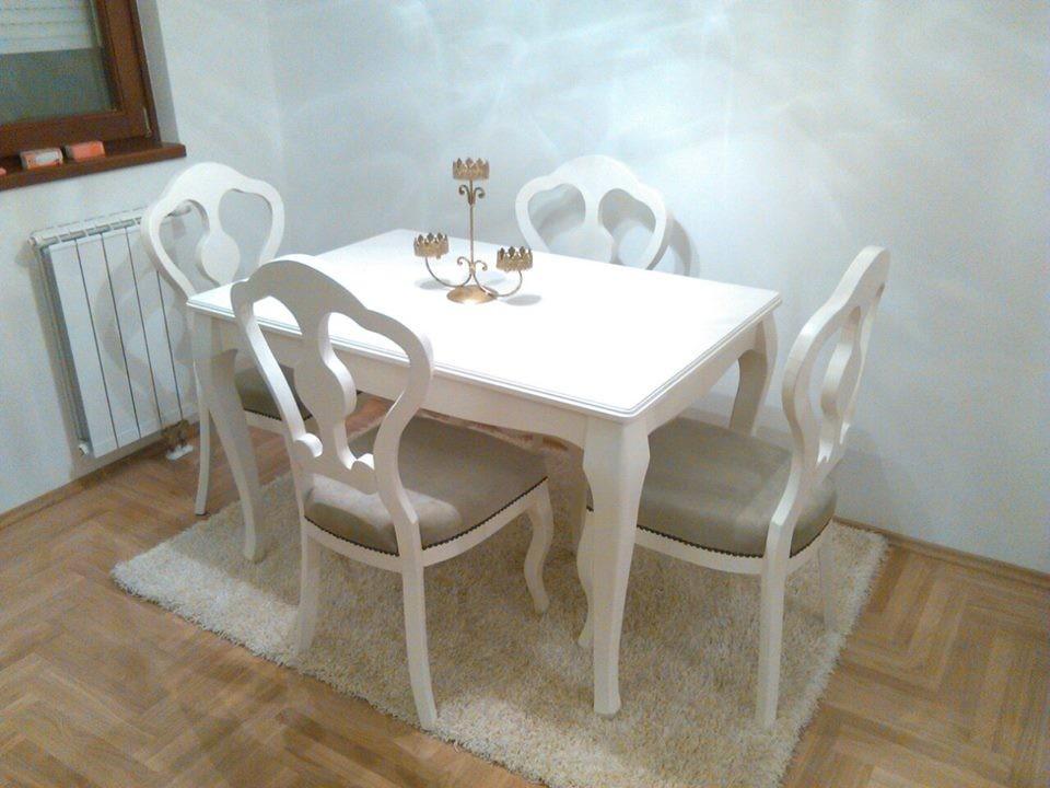 Tavolo da pranzo shabby chic finest cool tavoli da cucina for Mobiletti shabby chic economici