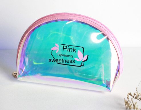 Klar pvc kosmetische verpackung kunststoff taschen oder mit kunststoff zipper