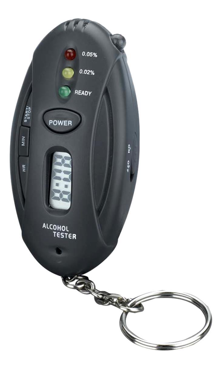 Новый 2016 алкотестер алкоголь тестер Yzer брелок автомобиля + фонарик + секундомер гаджеты с розничной упаковке 5 шт. бесплатная доставка